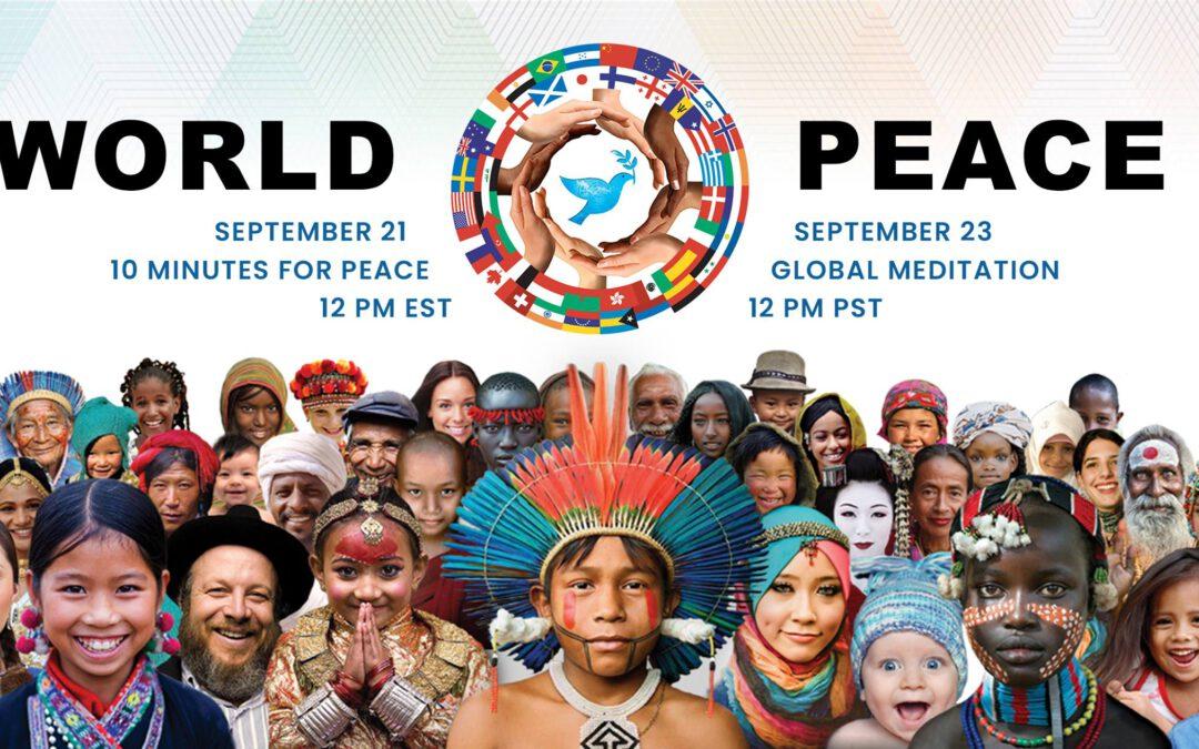 Internationaler Tag des Friedens – Globale Meditation