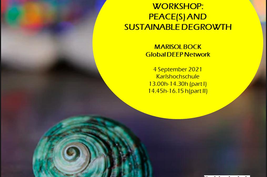 Workshop zur Zukunftsimagination: Postwachstum und Frieden [in Mehrzahl] – 04.09.2021 um 13:00 (online oder in Karlsruhe)